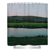 Daniels Conservation  Shower Curtain