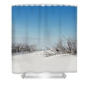 Daniel's Park Winter Scene Shower Curtain