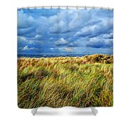 Danish Landscape Shower Curtain