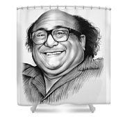 Danny Devito Shower Curtain