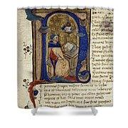 Dante: Divine Comedy Shower Curtain