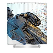 Dante In Meridian Hill Park Shower Curtain