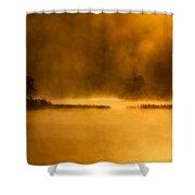 Dantes Lake #2 Shower Curtain