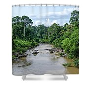 Danum Valley Shower Curtain