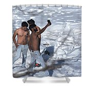 Dare To Bare Shower Curtain