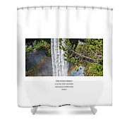Dare To Loove Yourself Shower Curtain