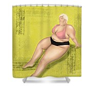 Dare To Wear Shower Curtain