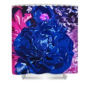 Daring And Beautiful Flowers Shower Curtain