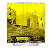 Daring Architecture Shower Curtain