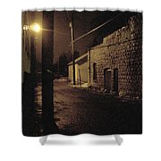 Dark Alley Shower Curtain