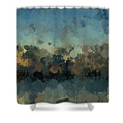 Dark And Moody Shower Curtain