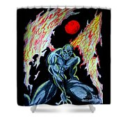 Dark Angel #2 Shower Curtain