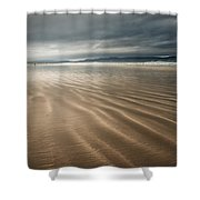 Darkest Benone Shower Curtain