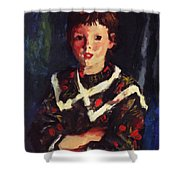 Dark Bridget Lavelle 1928 Shower Curtain