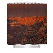 Dark Canyon Wilderness Shower Curtain