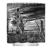Dark Days Shower Curtain