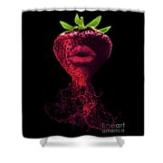 Deep Flavor Shower Curtain