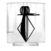 Dark Force Shower Curtain