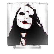 Dark Goddess Shower Curtain