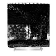 Dark House Shower Curtain