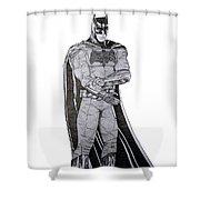 Dark Knight Shower Curtain