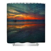 Dark Memories Shower Curtain