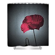 Dark Remembrance Shower Curtain