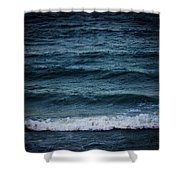 Dark Sea Shower Curtain