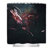 Dark Serie, I Shower Curtain by Daniel Hannih