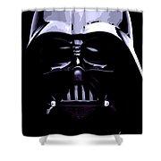 Dark Side Shower Curtain by George Pedro