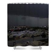 Dark Storm Shower Curtain