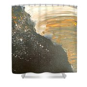 Dark Storm Shower Curtain