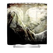 Dark Veil Shower Curtain