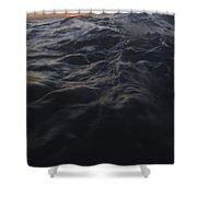 Dark Water Shower Curtain