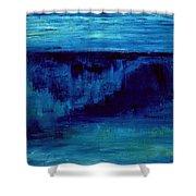 Dark Wave Shower Curtain