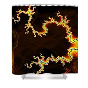 Dark World Shower Curtain