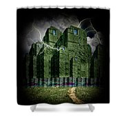 Darkside Of The City Shower Curtain