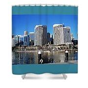 Darling Harbour Sydney Australia Shower Curtain