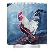 Darth Chicken Shower Curtain