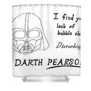 Darth Pearson Shower Curtain