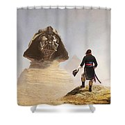 Darth Sphinx 3 Shower Curtain
