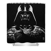 Darth Vader Shower Curtain by Don Medina