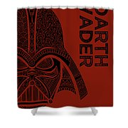 Darth Vader - Star Wars Art  Shower Curtain