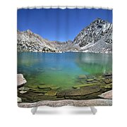 Darwin Canyon Lower Lake - Sierra Shower Curtain