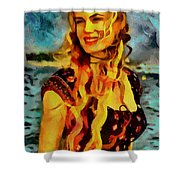 Daryl Hannah Collection - 1 Shower Curtain