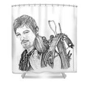 Daryl  Shower Curtain