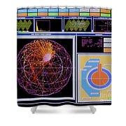Data Capture, Sudbury Neutrino Shower Curtain