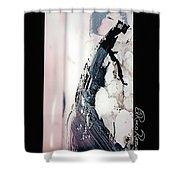 Date Elegante Shower Curtain