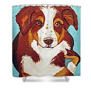 Date With Paint Feb 19 Finley Shower Curtain
