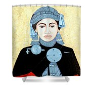 Daughter Of The Sun Shower Curtain